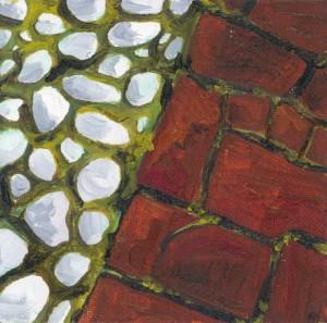 Pebbles and Brick