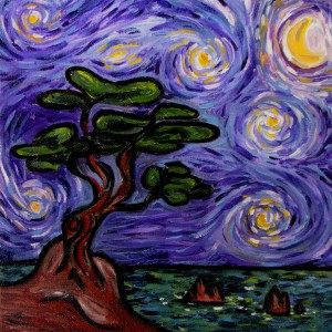 Starry Night in California